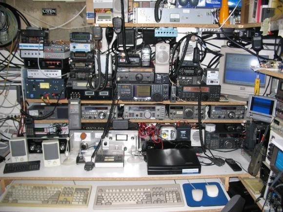 1 amateur radio station
